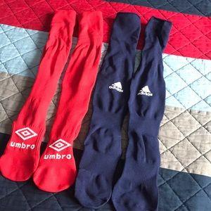 Soccer socks.